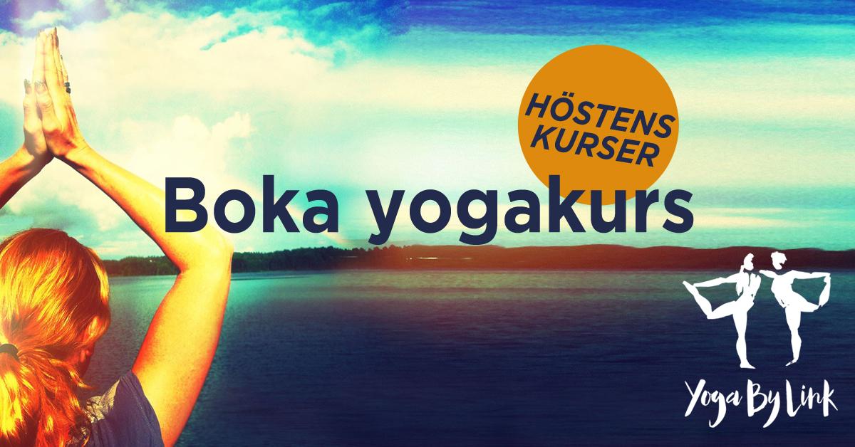 Boka yogakurs hos YogaByLink