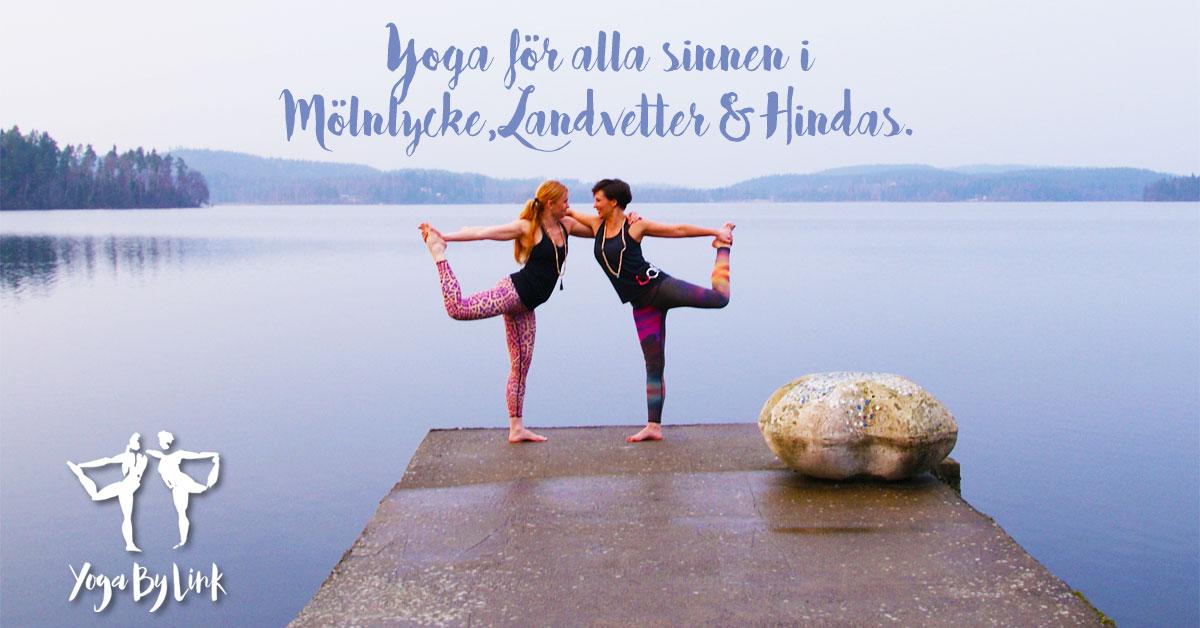 Yogakurs på YogaByLink - Yoga i Mölnlycke, Landvetter & Hindås